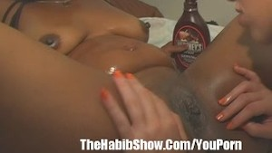 Ebony and Ivory Lesbian Freaknick