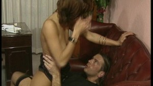 Horny guy gives girl DP with h