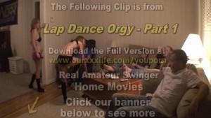 Lapdance Orgy - Part 1