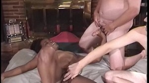 Ebony chick wants to be played with