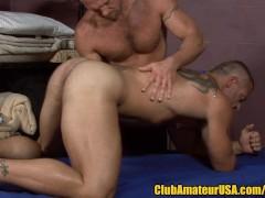 Muscle Hunk's Prostate Massage