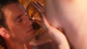 public sex guy cums on pretty face
