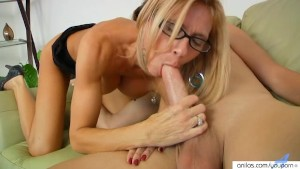 Hardcore Busty Milf Loves The Taste Of Cock