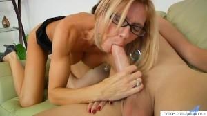 Hardcore Busty Milf Loves The Taste Of Cock