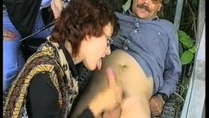 Giving a blowjob and handjob anywhere any time (CLIP)