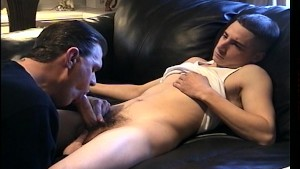 Super hot cock being sucked on