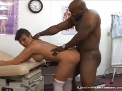 Black Man Slamming Ava Devine