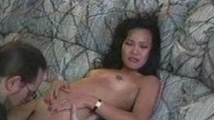 Sweet Filipina hard anal massa