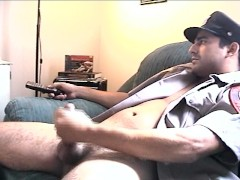 Picture Officer Zack invites a friend to wack and su...