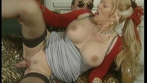Mature with big boobs fucks gu