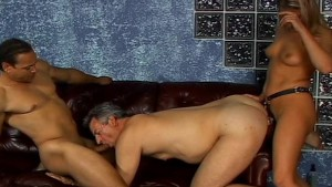 Hot blonde says let me fuck th