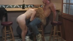 Dirty hot chick gets fucked at