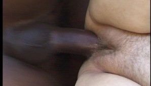 Chubby girl gets fucked by a big black cock