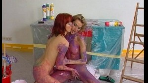 Coloring us purple with paint