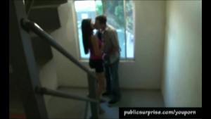 Getting A Blowjob In A Blowjob Stairway