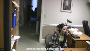 Amateur porn casting video