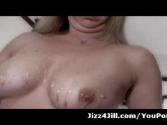 Picture Wife Squirts Honey On Her Nipples