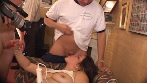 Blonde lady takes a lot of black cock in her love canal(clip)