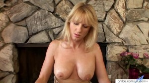 Horny Milf Lotions Up To Masturbate