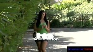 Ashli Orion gets picked up to suck and fuck