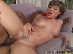 Hung Black Stud Pounding White Pussy