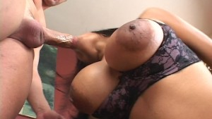 Cum see the largest nipples in the west ( clip)