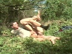 Picture Catching Some Big Cock in the Great Outdoors