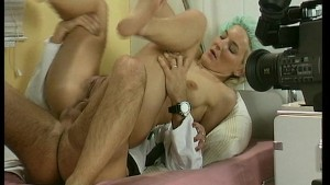 She is getting her injection (CLIP)