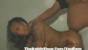 18 year old Black Booty Gets F