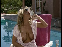 Picture A day at the pool and dinner with the horny...