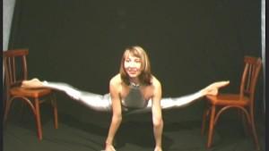 Ballerina Elza flexible posing