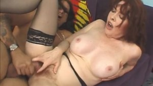 Mature Babe Deepthroats And Rides Big Dick