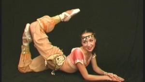 Lesbian flexible oriental duo