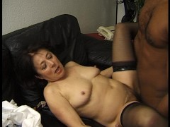 allemande noire queue: german granny has a black cock - julia reaves