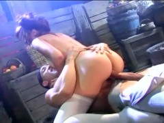 Picture Redhead fucking and deepthroat in stockings