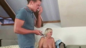 Mother in law seduces her daug