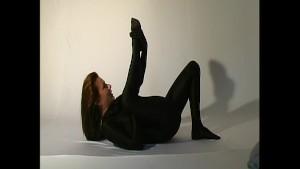 Anastasia in black spandex (cl