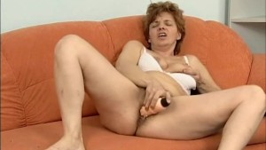 hairy red head mom alone at ho