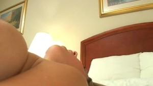 Haylee gets fucked in bed, Creampied