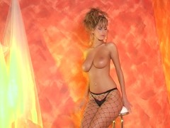 Fishnet beauty strips for you