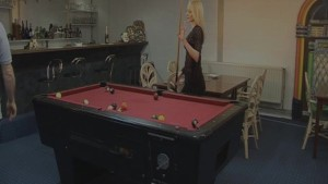 Jill and Ronald fuck on the pool table