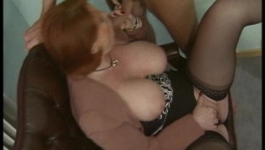 Red-Head Milf With Big-Boobs