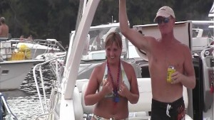 Party Cove Pre Wet Tshirt Contest Footage