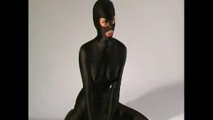 Crazyspandexgirl Ana in black