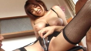 Asian girl with nice tits gets