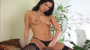 Compilation of Mili Jay masturbating in lingerie