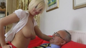 Blonde UK girl getting fucked