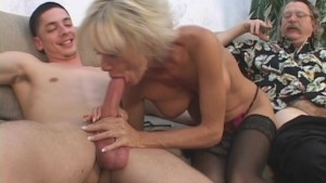 Mature Couple In 3some Sex Gam