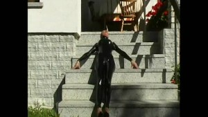 Outdoor rubber doll (clip)