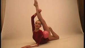 Amateur ballerina Marina (clip